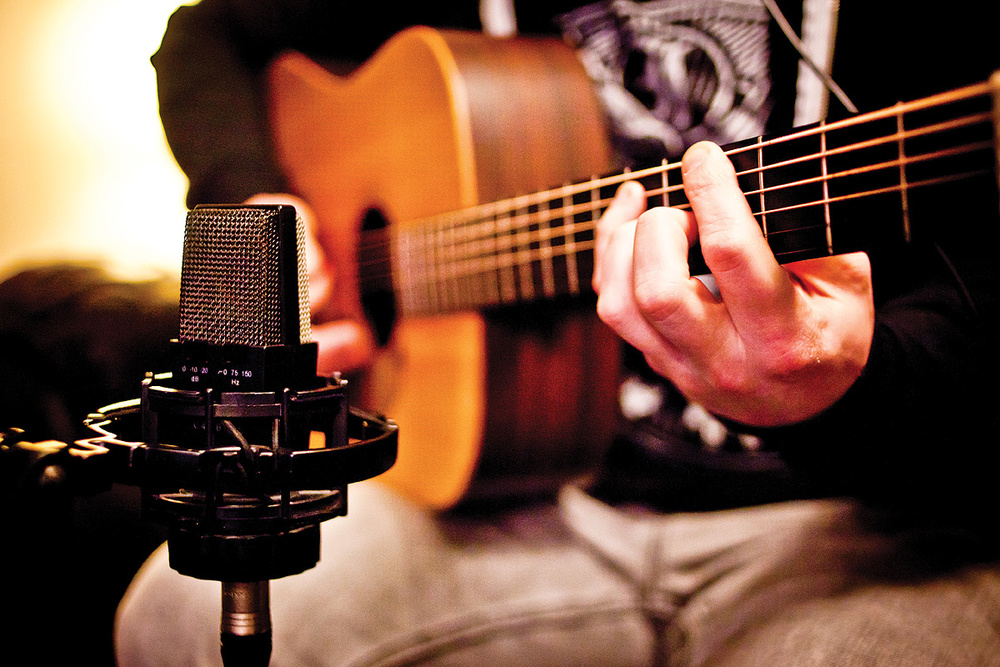 acoustic guitar recordings