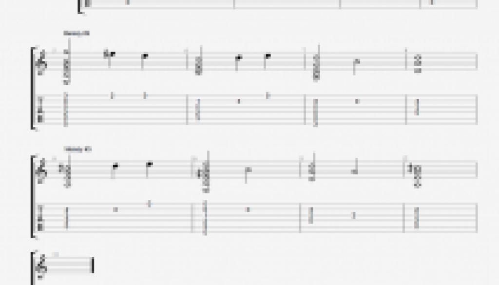 Flat Picking Melodies