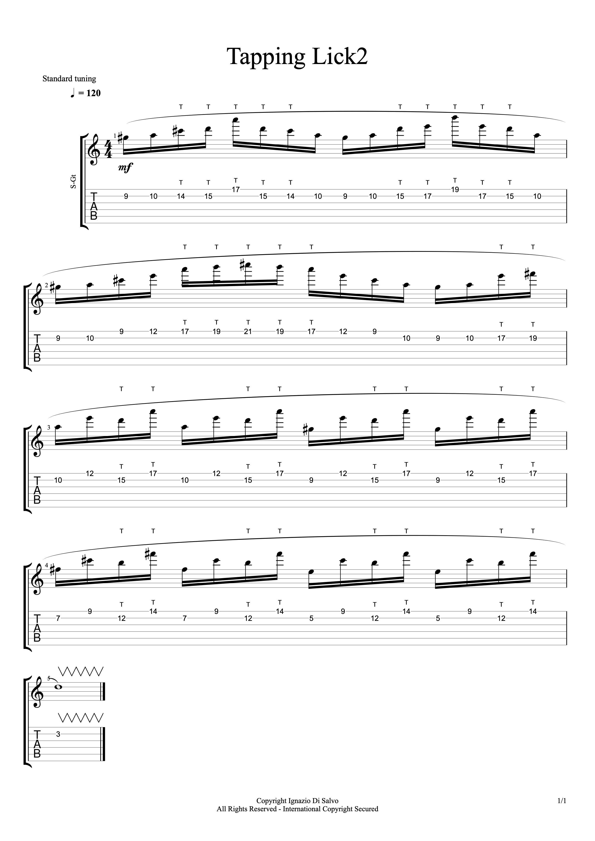 Tapping Lick2#1