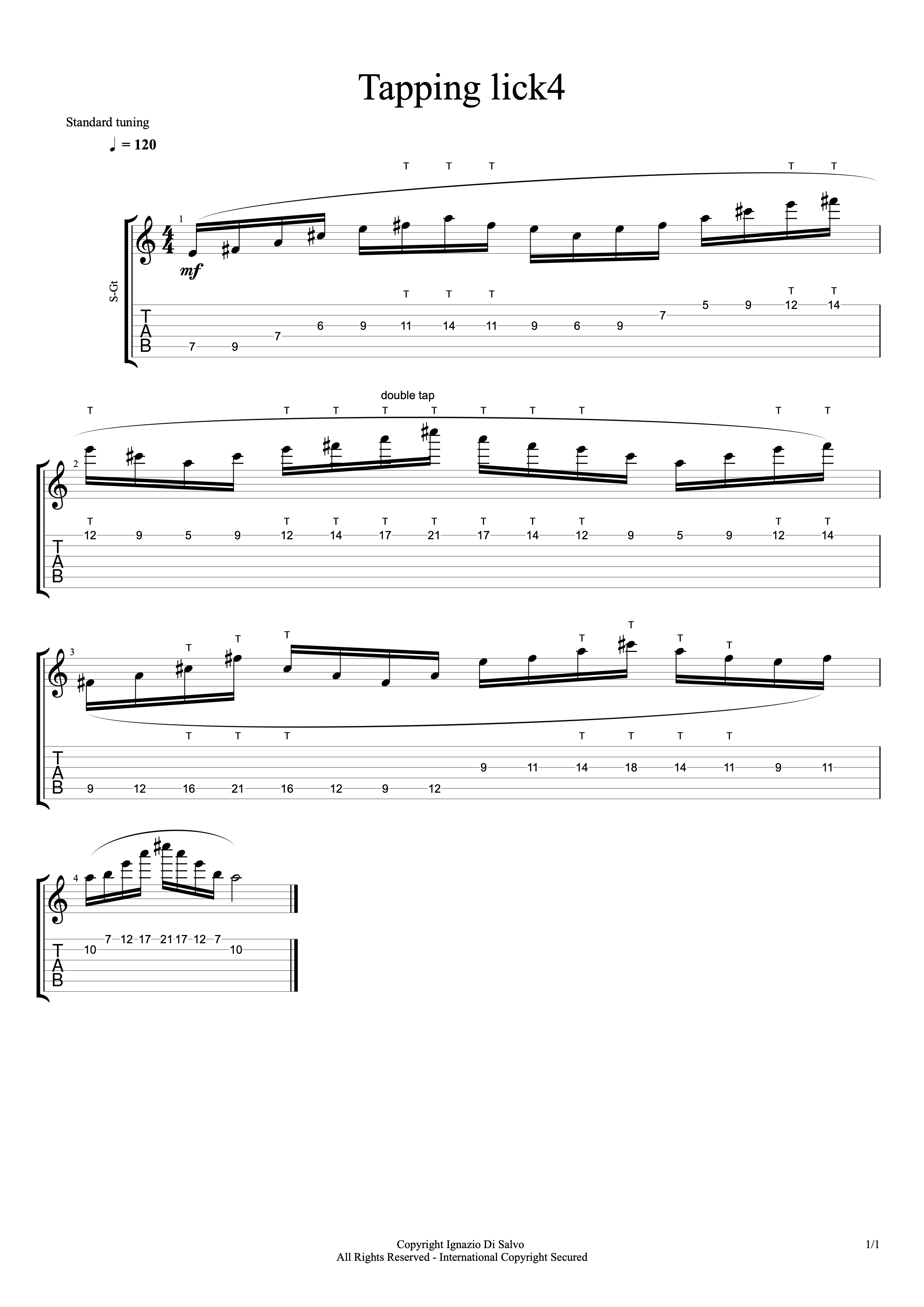 Tapping Lick4#1