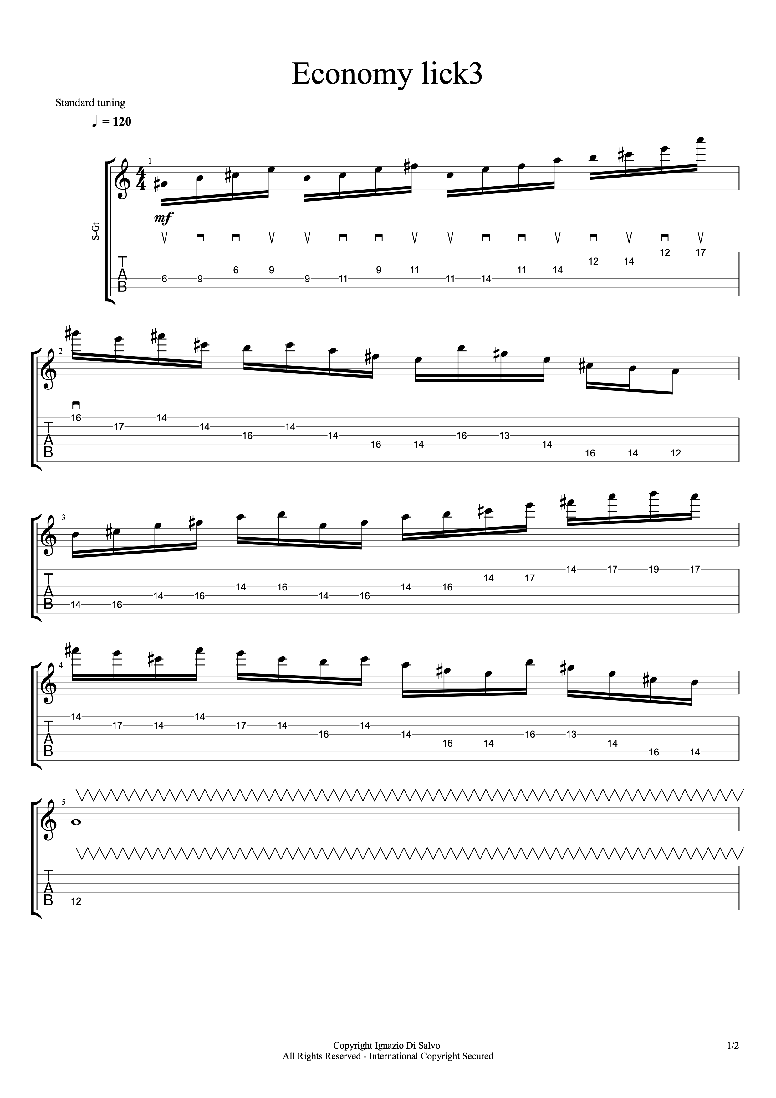 sweep picking lick3#1